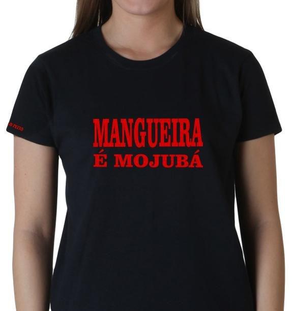 Camiseta Exu Mangueira é Mojubá