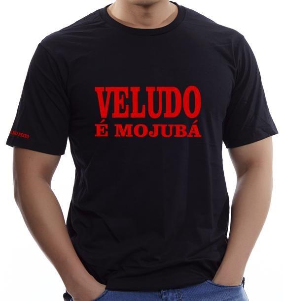 Camiseta Veludo é Mojubá