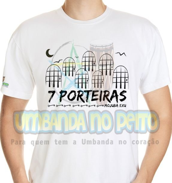 Camiseta Mojubá 7 Porteiras