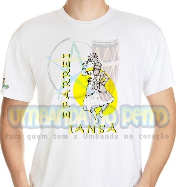 Camiseta Eparrei Iansã II