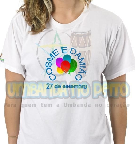 Camiseta É Festa