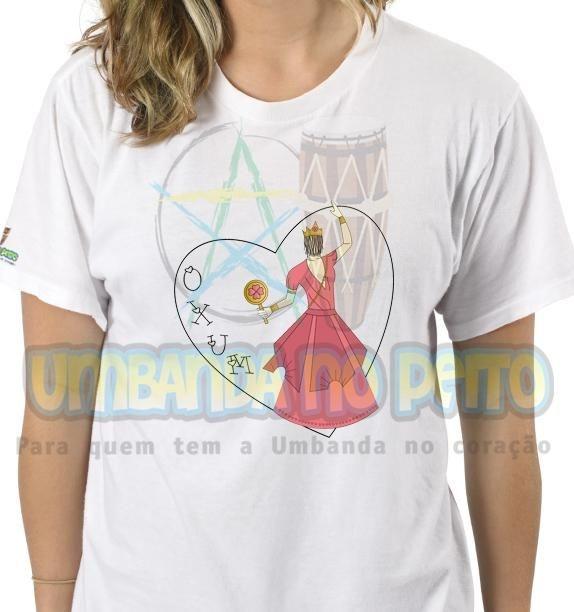 Camiseta Salve Oxum