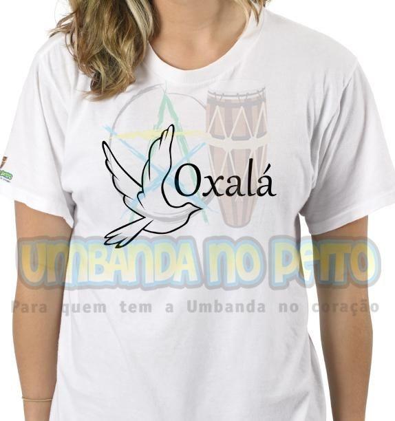 Camiseta Salve Oxalá