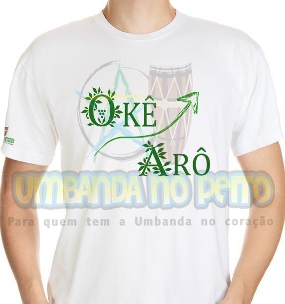Camiseta Okê Arô Oxossi II