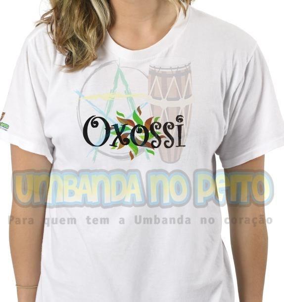 Camiseta Oxossi Folhas