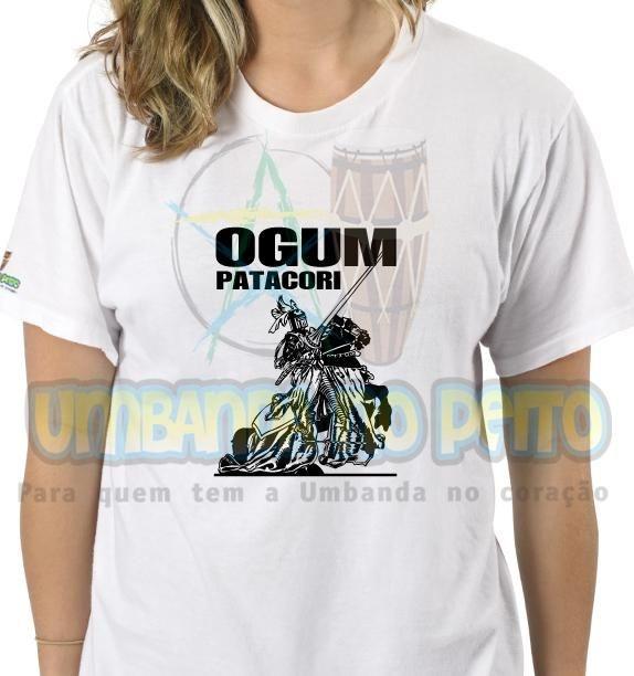 Camiseta Ogum Patacori