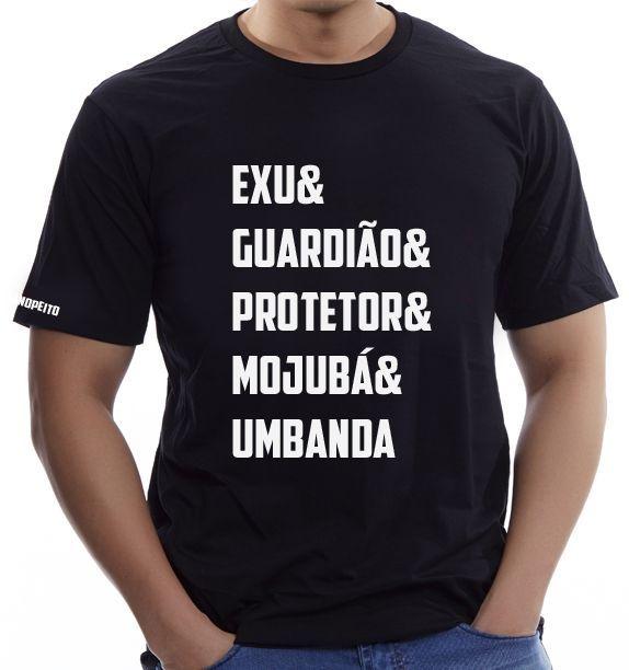 Camiseta Preta Exu&