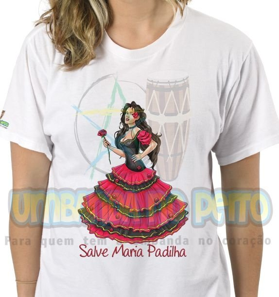 Camiseta Salve Maria Padilha