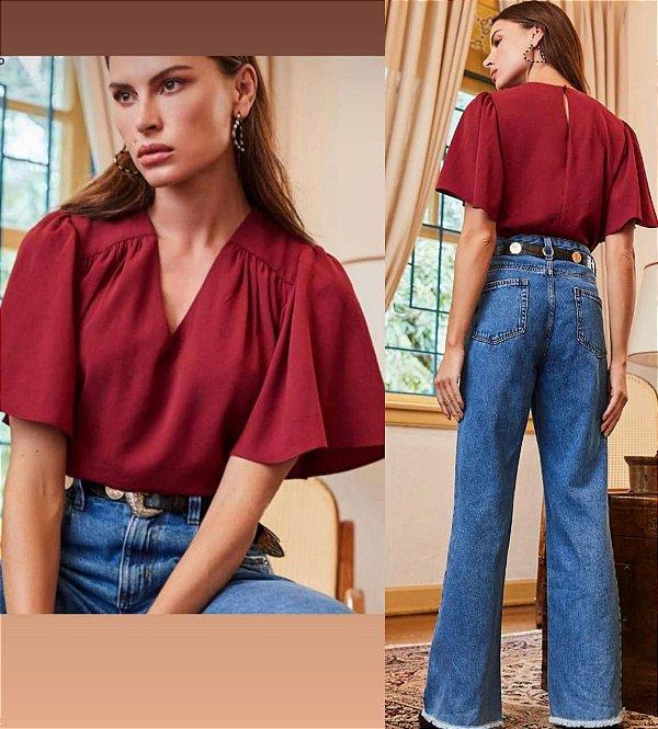 Calça Jeans Detalhes
