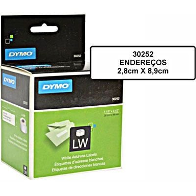 Etiqueta DYMO Label Writer 30252