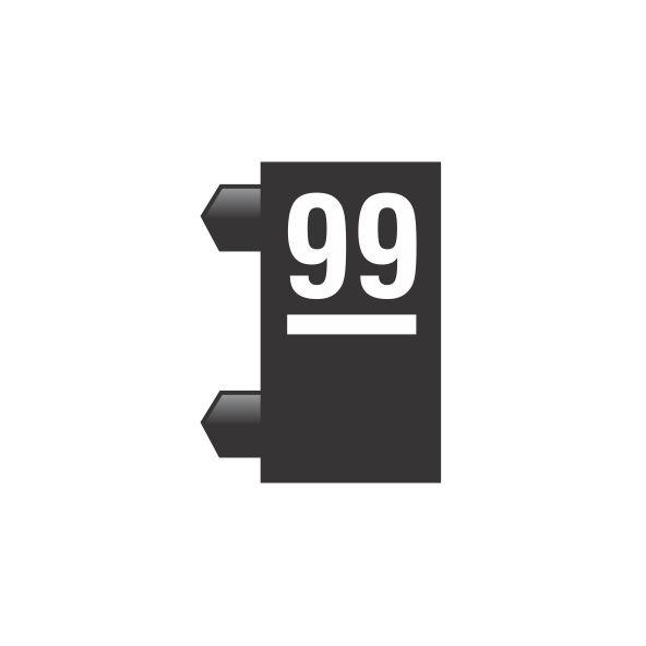 """Peças Avulsas """"99"""" (Preto)"""