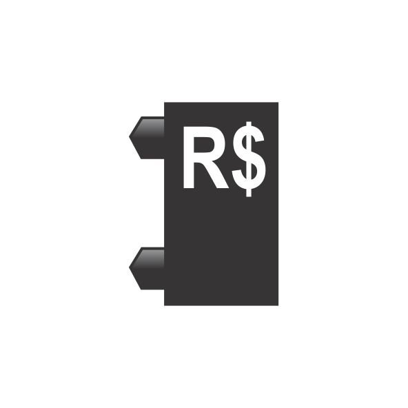 "Peças Avulsas ""R$"" (Preto)"