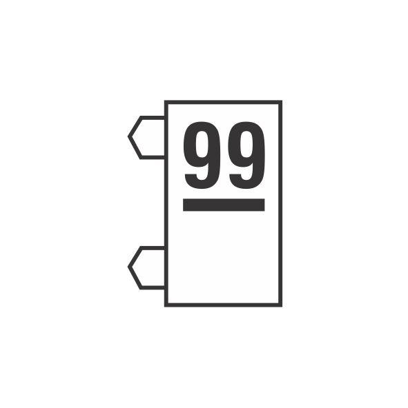 """Peças Avulsas """"99"""" (Transparente)"""