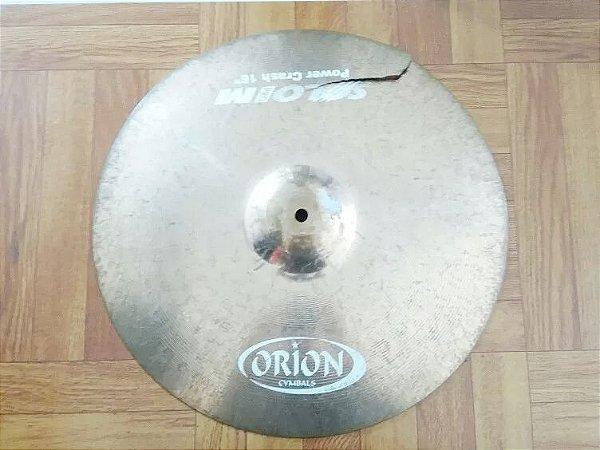 Prato 16 Orion Solo Pro Im Power Crash Rachado