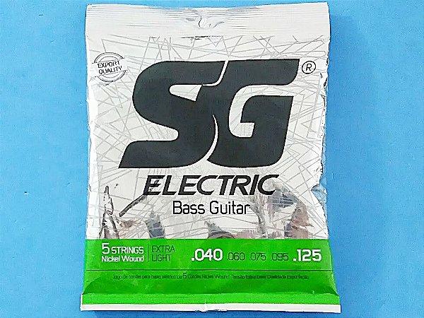 Encordoamento Sg Electric De Baixo 5 Cordas