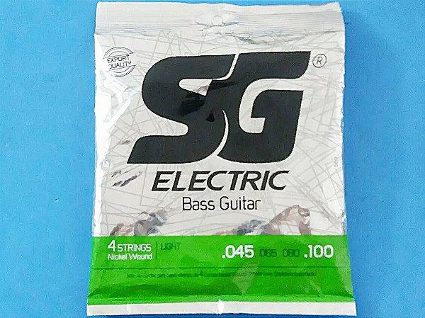 Encordoamento Sg Electric De Baixo 4 Cordas