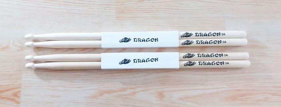 Baqueta Para Bateria Gragon C.ibanez 5a Kit Com 2 Pares