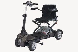 Cadeira de Rodas Motorizada Dobrável Scooter PF2