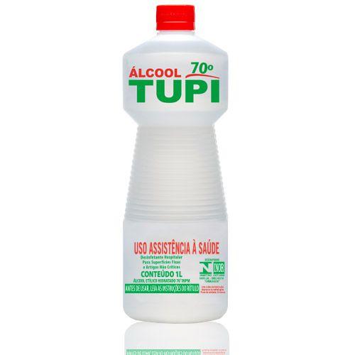 Álcool Etílico Hidratado 70° INPM 1 Litro TUPI - Unidade