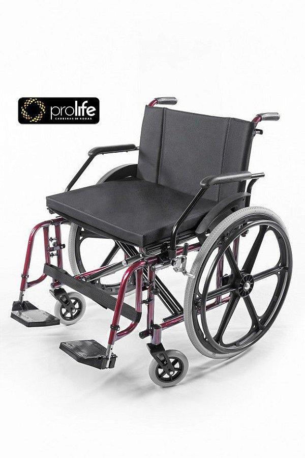 Cadeira de Rodas Confort Modelo Elite Obeso Extra