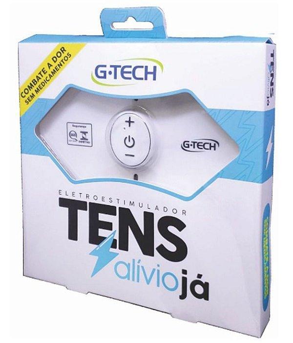 Eletroestimulador Recarregável Tens Gtech Alívio Das Dores