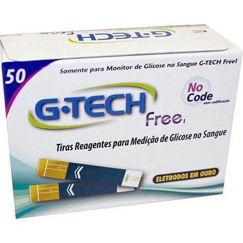 Tiras Reagentes P/ Medição De Glicose (caixa 50 Unid)