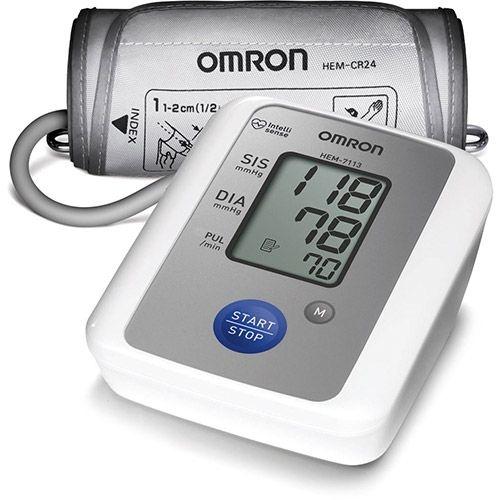 Medidor de Pressão Arterial Automático de Braço - HEM 7113 - Omron
