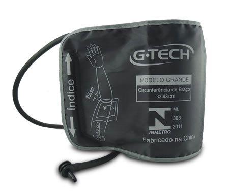 Braçadeira para Aparelho de  Pressão Digital 33cm x 43cm G-TECH