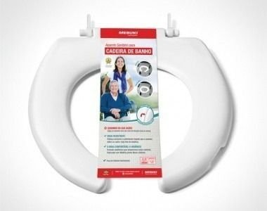 Assento Sanitário Aberto Para Cadeira De Banho - MEBUKI