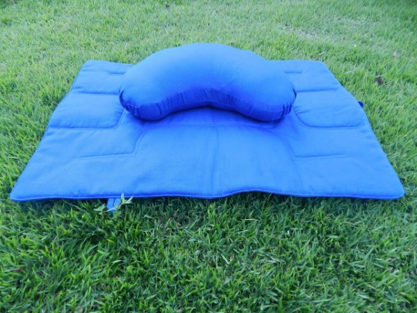 07 - Almofada para meditação e tapete