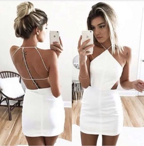 Vestido Ayla - Branco