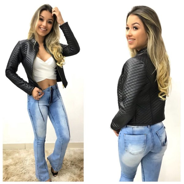 Jaqueta Couro eco