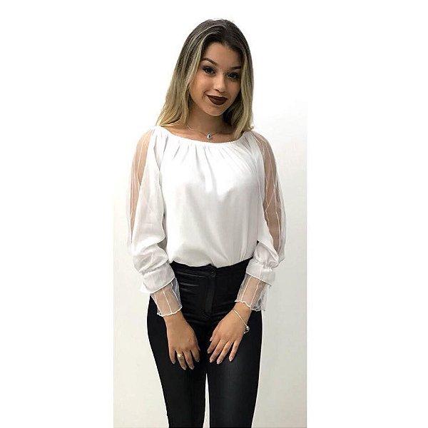 Blusa Branca - Detalhes