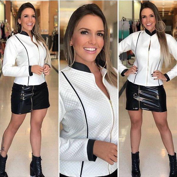 Jaqueta branca Nely