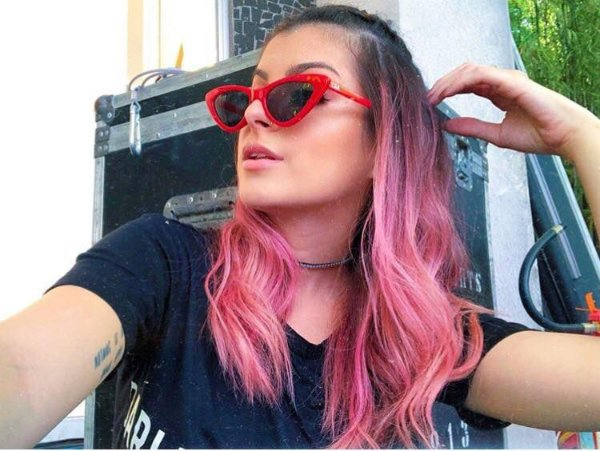 bf185fcf8c3ed Óculos gatinho 3.0 vermelho - It Girls