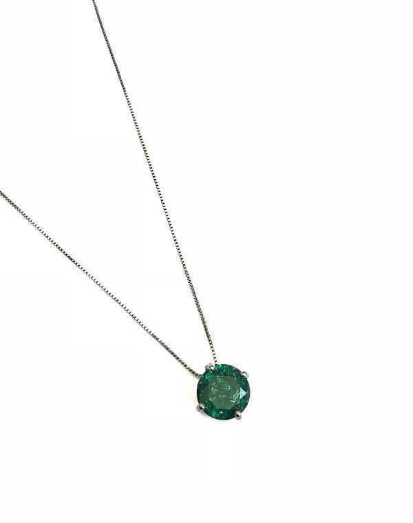 Colar Green stone