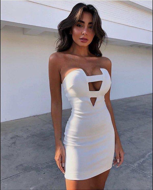 Vestido Herrera - White