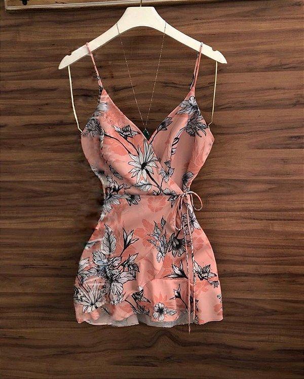 Vestido  floral - Shermie