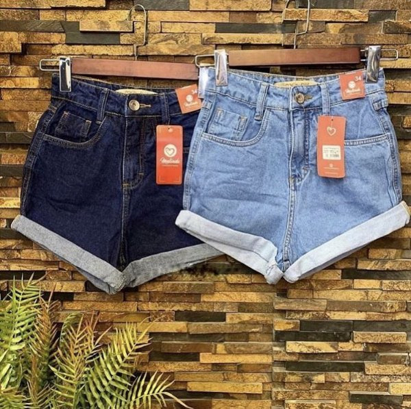 Shorts Jeans - Mom