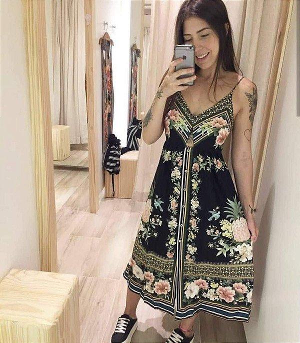 Vestido Midi - Maria Júlia