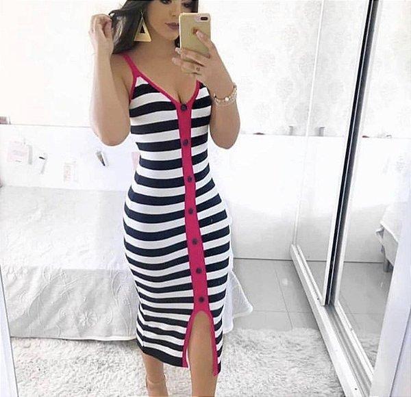 Vestido Tricô - Lenice