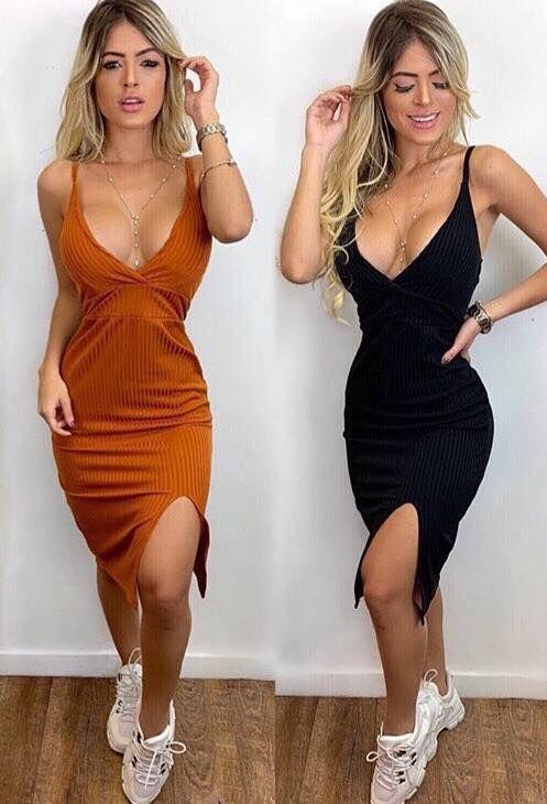 Vestido midi - Yasmin