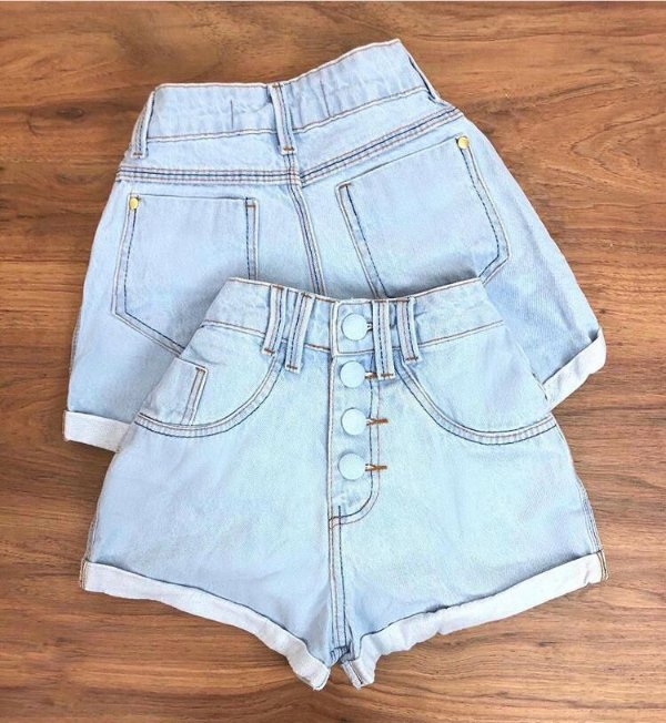 Shorts Jeans Bottons
