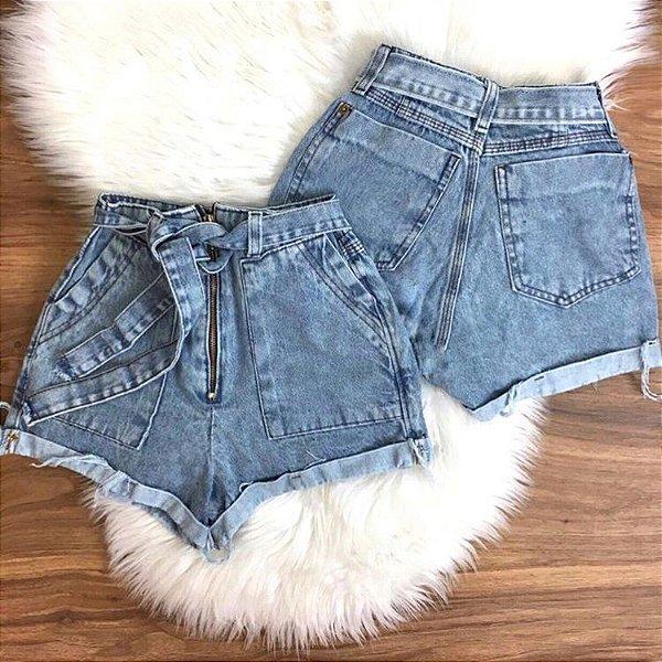 Shorts Jeans - Zíper