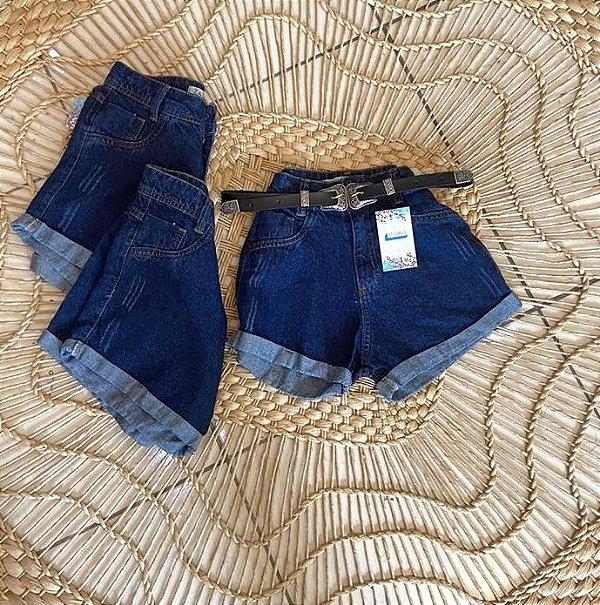 Short  Jeans Mom - Dark