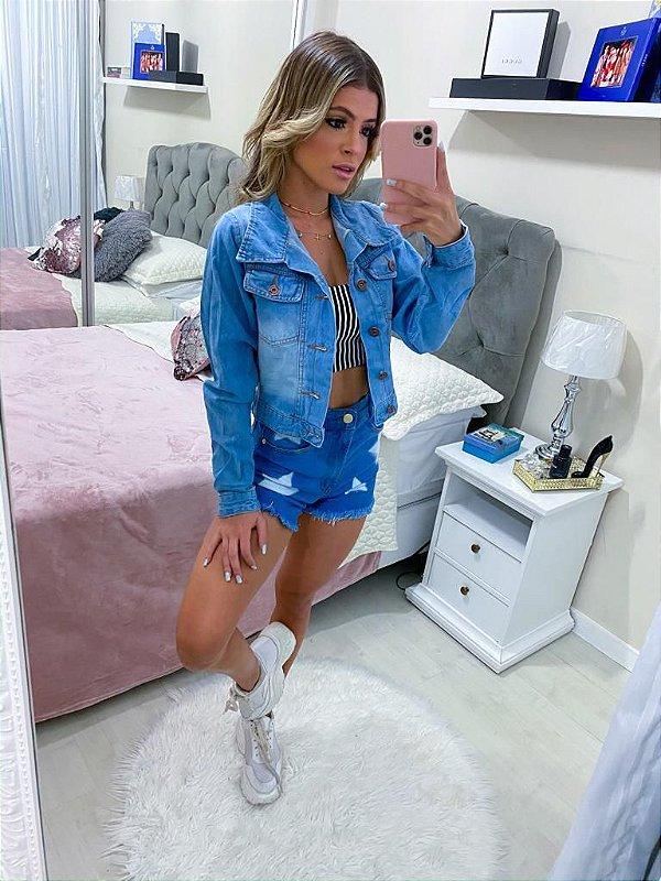 Jaqueta Jeans - Curta