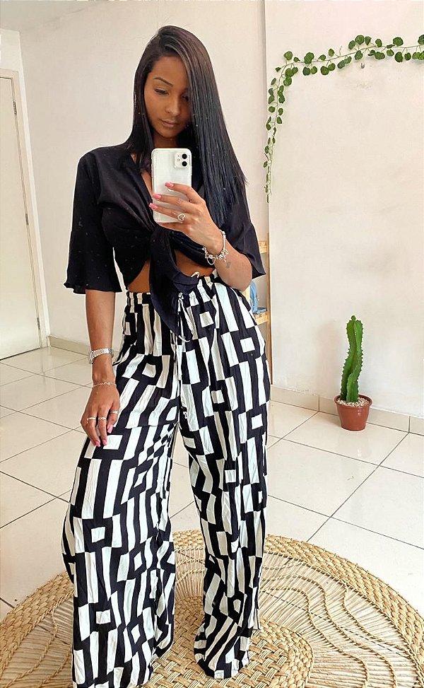 Pantalona Black & white