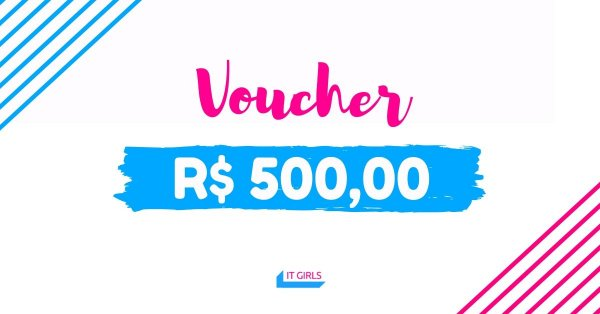 Vale compras no valor de R$ 500,00