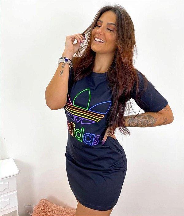 Vestido / Blusão Adidas® - Logo color