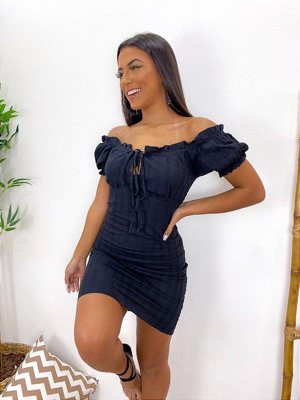 Vestido em lese - Alessandra